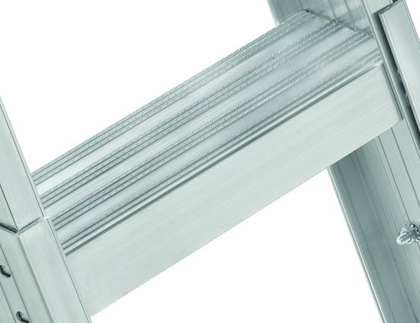 Louisville Ladder 25 5x54 Aluminum Attic Ladder Type Iaa