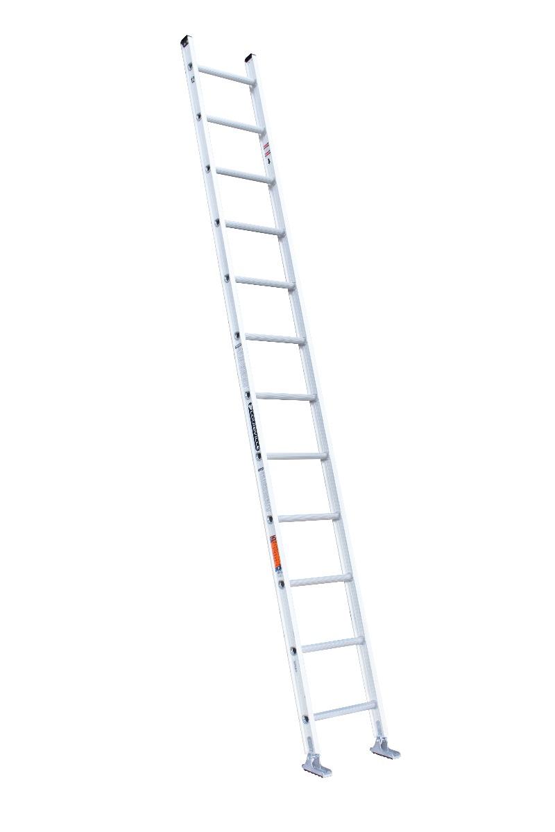 Louisville Ladder 12 Foot Aluminum Single Extension Ladder