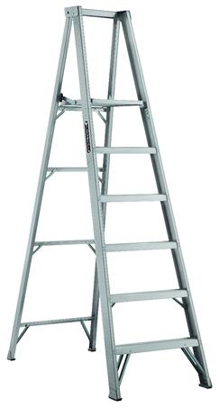 Louisville Ladder 6 Foot Aluminum Platform Ladder Type Ia
