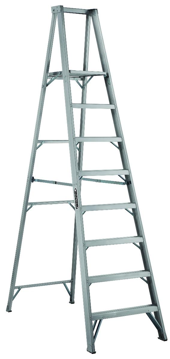 Louisville Ladder 8 Foot Aluminum Platform Ladder Type Ia