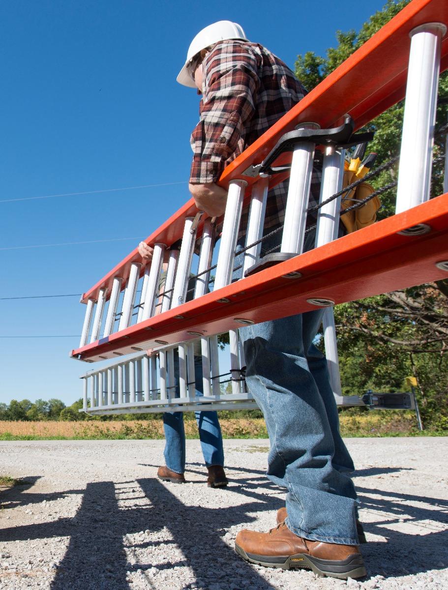 Louisville Ladder 40 Foot Fiberglass Extension Ladder