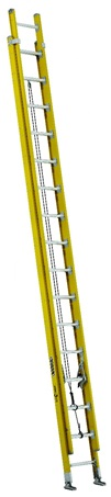0 thumbnail image for Louisville Ladder 32-Foot Fiberglass Extension Ladder, Type IAA, 375-pound Load Capacity, FE4632HD