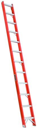 0 thumbnail image for Louisville Ladder 12-Foot Fiberglass Shelf Ladder, Type IA, 300-pound Load Capacity, FH1012
