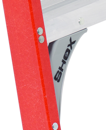 Louisville Ladder 8 Foot Fiberglass Platform Ladder Type