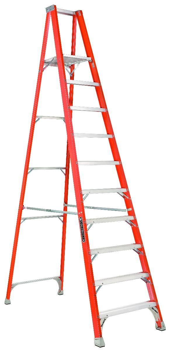 Louisville Ladder 6 Foot Fiberglass Platform Ladder Type