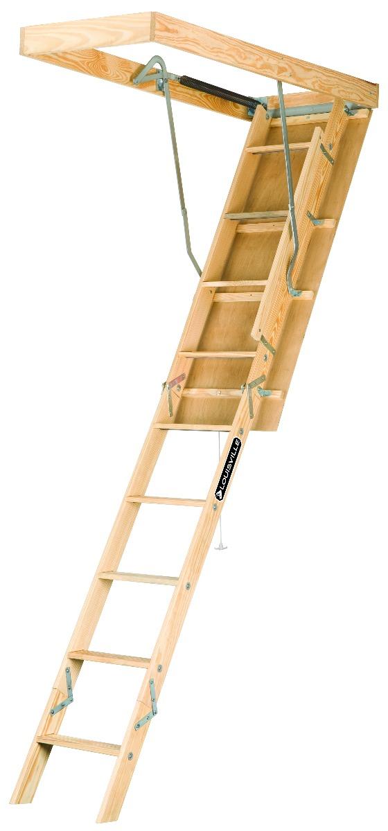 Attic S Spring Yellow Louisville Ladder