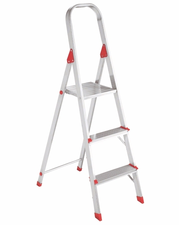 Wondrous Louisville Ladder 3 Foot Aluminum Step Stool Type Iii 200 Alphanode Cool Chair Designs And Ideas Alphanodeonline