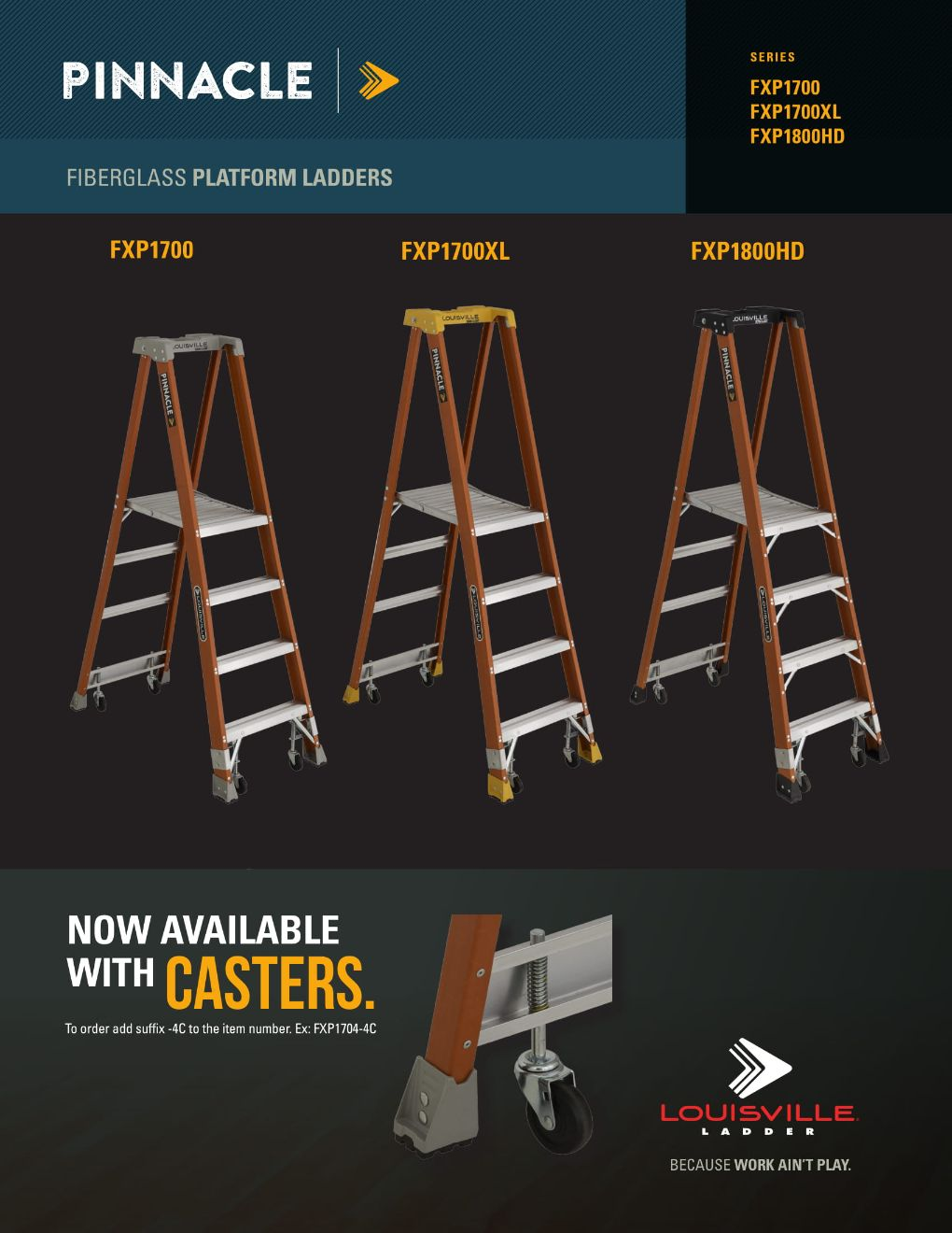 Pinnacle Casters - Flyer Marketing Material Image
