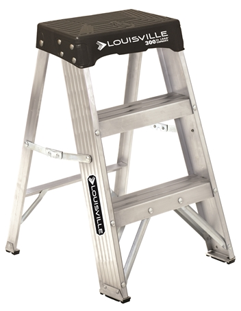 Pleasant Louisville Ladder 2 Foot Aluminum Step Stool Type Ia 300 Pabps2019 Chair Design Images Pabps2019Com