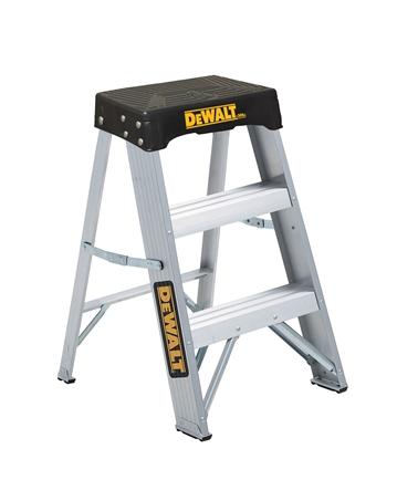 Super Dewalt 2 Foot Aluminum Type Ia 300 Pound Load Capacity Inzonedesignstudio Interior Chair Design Inzonedesignstudiocom